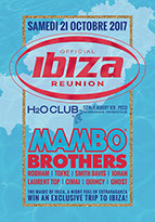 graphic design, ontwerp, drukwerk, affiches, posters, flyers, h2o club pecq, official ibiza reunion